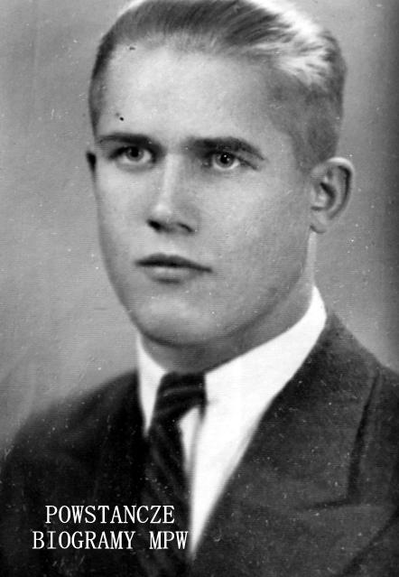 """Józef Henryk Łapczyński """"Wiktor"""" (1921-2007) Fot. udostępnił Piotr Siła"""