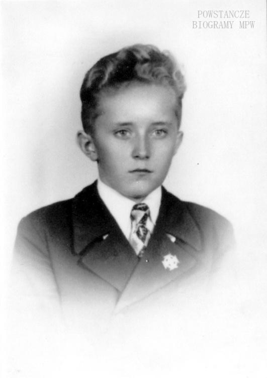 "Piotr Hugues ""Dunin"" (1925-1988). Fot. archiwum rodzinne."