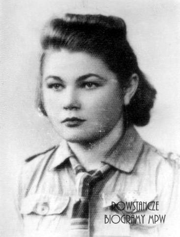 "Helena Nowakowska - Zgutko ""Anna"" (1923-1993) fot. AR MPW"