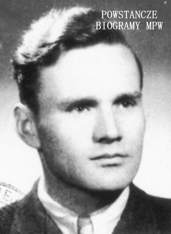 """Tadeusz Stanisław Dolata """"Zych"""" (1925-2012). Na zdjęciu w 1949 roku. Fot. z archiwum rodzinnego Teresy Dolaty"""