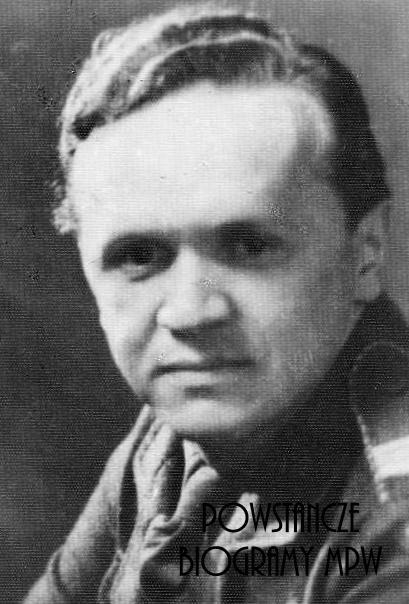 """Eugeniusz Rajewski """"Gentek"""" (1923-2004). Fot. materiały do Słownika Uczestników PW - Pokój Kombatanta"""