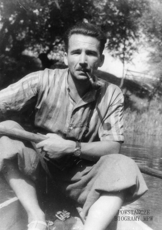 """Czesław Korwin-Piotrowski """"Karol"""" (1909-1944) Fot. AR MPW"""