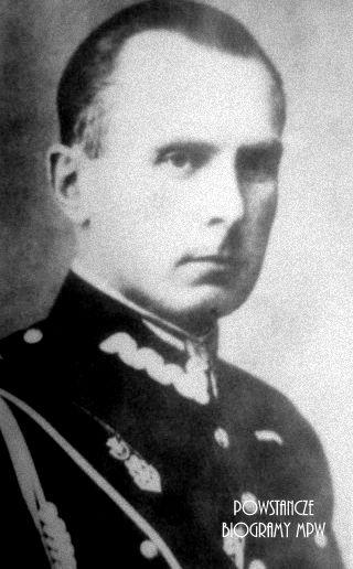 """Henryk Roycewicz """"Leliwa"""" jako rotmistrz 25 Pułku Ułanów Wielkopolskich"""