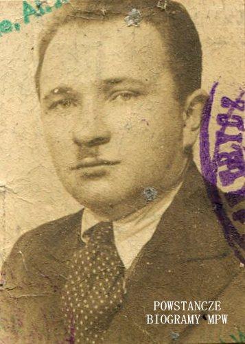 Stefan Nejman (1910-1970)  Fot. archiwum rodzinne