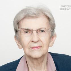 Teresa Jodkowska. Zdjęcie z serii portretów Powstańców Warszawskich w ramach projektu