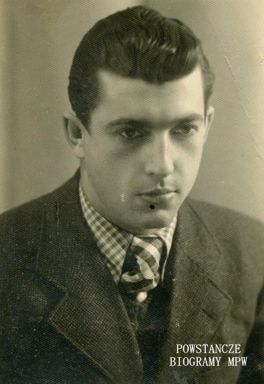 """Zygmunt Listopadzki ps. """"Lis"""" (1920-1944) Fot. z archiwum rodzinnego"""