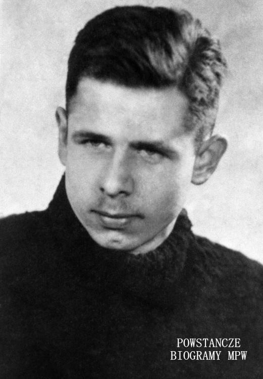 """ppor. Jan Reutt """"Mietek"""" (1921-1944) Fot. AR MPW"""