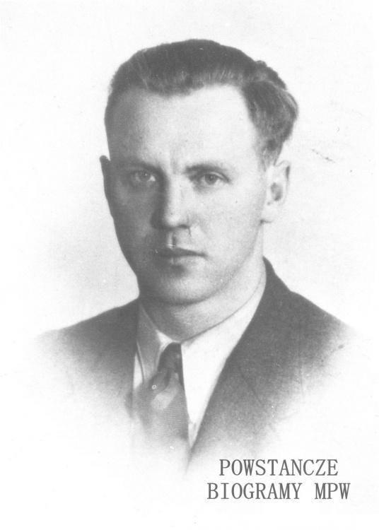 """ppłk. Stanisław Weber """"Chirurg"""" (1906-1990). Fot. archiwum rodzinne za pośrednictwem Pracowni Historycznej MPW"""