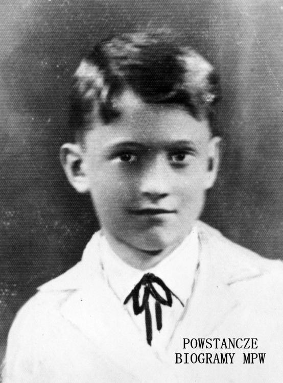 """Łącznik Zbigniew Madej """"Zbyszek"""" (1933-1944). Fot. ze zbiorów Muzeum Powstania Warszawskiego, sygn. MPW-IH/161"""