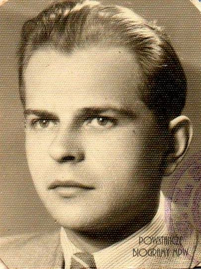 """kpr. Janusz Makowski ps. """"Janusz"""" """"Makus"""" (1925-2000). Fot. z archiwum rodzinnego córki"""