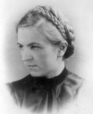 """Maria Mioduszewska """"Maryna"""" (1921-1944) Fot. archiwum rodzinne / Medycy Powstania."""