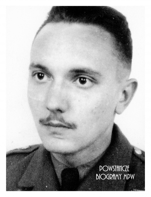 """Stanisław """"Nałęcz"""" Komornicki. Fot. AR MPW"""
