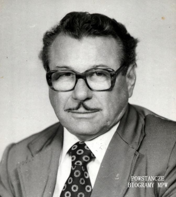 """Tadeusz Ołtarzewski """"Pajac"""" (1920-1992). Fot. archiwum rodzinne, udostępnił  p. Zbigniew Branecki"""