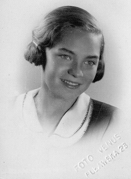 Halina Wolfram - 1935 rok. Zdjęcie : Jakub Kozal - archiwum rodzinne