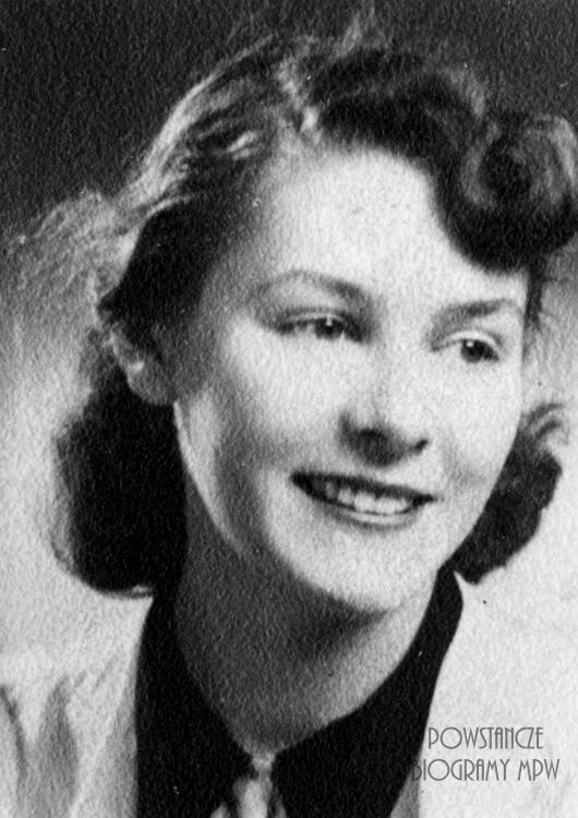 "Maria Frelich - Pietruska - Homerska ps. ""Marysia"" (1925-2010). Fot. AR MPW"