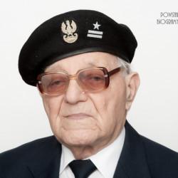 Zdjęcie z serii portretów Powstańców Warszawskich w ramach projektu