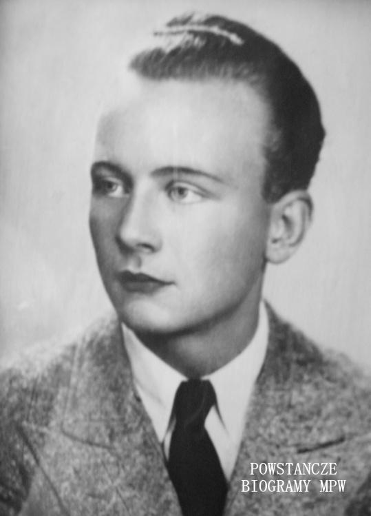 """Józef Bombała ps. """"Cap""""  (1920-1944) Fot. z archiwum rodzinnego"""