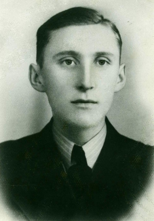 """Mieczysław Rączka ps. """"Łapka"""" (1920-1944). Fot. archiwum rodzinne."""