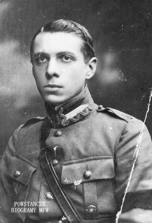 """Jan Władysław Lemański ps. """"Włostowski"""" (1897-1944). Fot. z archiwum rodzinnego Adama Lemańskiego"""