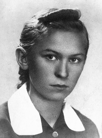 Zofia Danuta Hafke (1925-1944) Fot. AR MPW