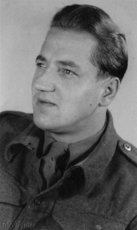 Mieczysław Rajewski po wyzwoleniu - Brunszwik 1945 r.
