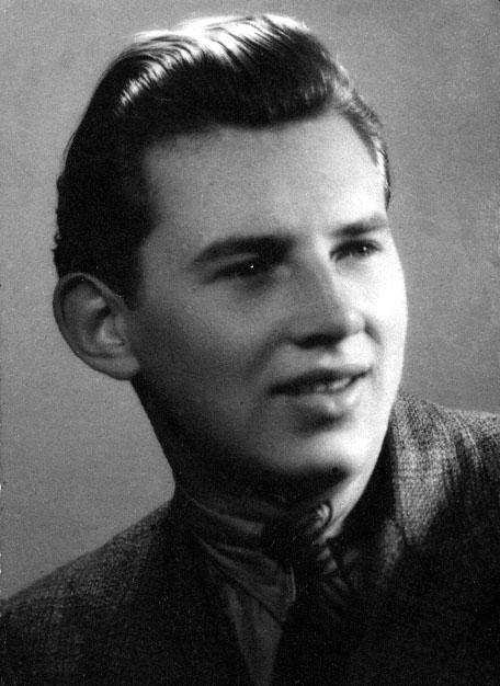 """st. strzelec Ryszard Kniaź """"Janusz II"""". Fot. archiwum rodzinne p. Ryszarda Kniazia"""