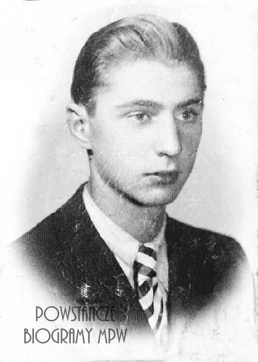 """st. strz. Stanisław Banaszkiewicz """"Pik"""" (1923-1944) Fot. udostępnione przez Magdalenę Ciok"""