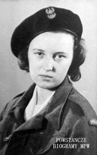 Hanna Irena Chodowiec, fot. z archiwum rodzinnego udostępnione przez p. Marię Ciupalską.