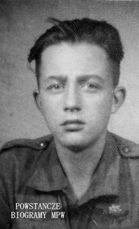 """Andrzej Reingruber """"Orzeł"""" (1930-1988). Fot. z archiwum rodzinnego Ewa Reinruber"""