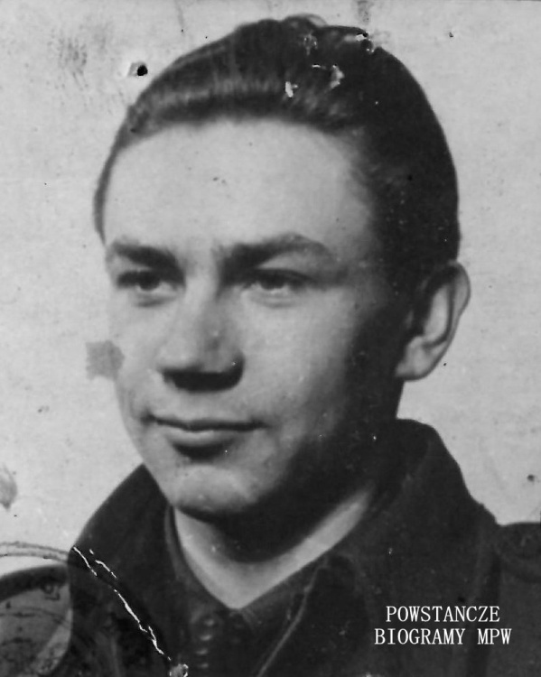 """Andrzej Miller ps. """"Pantera"""". Fot. z archiwum rodzinnego Wojciecha Jasińskiego"""