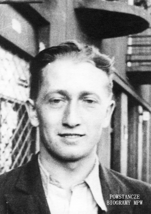 "Henryk Kranich ps. ""Zgrzyt"" (1922-1989). Fot. AR MPW"