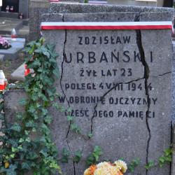Powązki Wojskowe, kw. A-23. Zdjęcie mogiły autorstwa p. Anny Szarejko