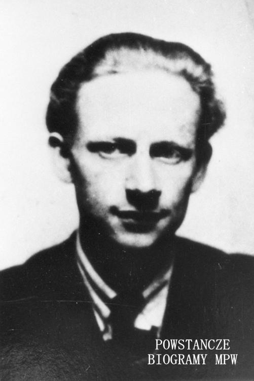 """Bogusław Polkowski """"Kozak"""" (1922-1944). Fot. MPW-IH/3953"""