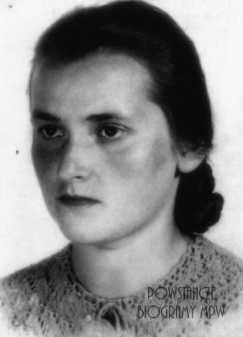 """Irena Kaczmarczyk ps. """"Małgosia"""" (1923-1944). Fot. AR MPW"""