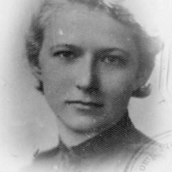 Krystyna Jankowska-Laskowska około roku 1939. Fot. archiwum rodzinne.
