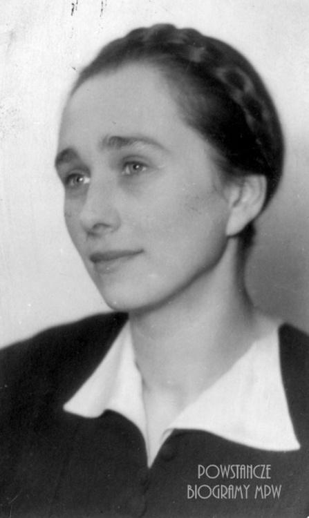"Zofia Bolechowska - Demby ps. ""Marta"" (1910-1944). Fot. AR MPW"