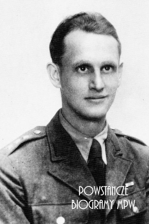 """Kpt. Władysław Orlik """"Jastrzębski"""" (1916-1988). Fot. udostępnił p. Rafał Orlik"""