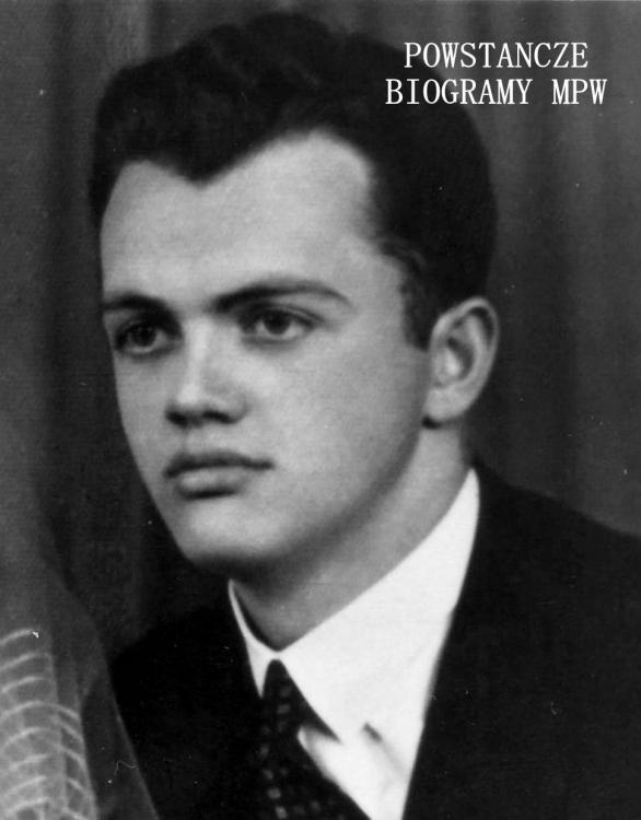 """Strz. Witold Płoński ps. """"Prus"""" (1922-2009). Fot. z archiwum rodzinnego, udostępniła p. Ewa Płońska -  Hyjek"""