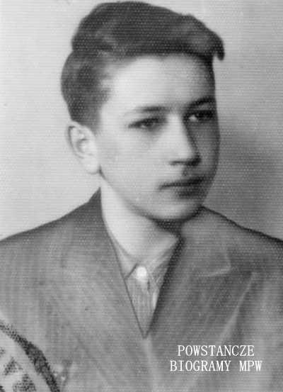 """Witold Antoni Gintowt-Dziwiłł  ps. """"Mowgli"""" (1929-1986)  Fot. z archiwum rodzinnego Anny Gintowt-Dziwiłł"""