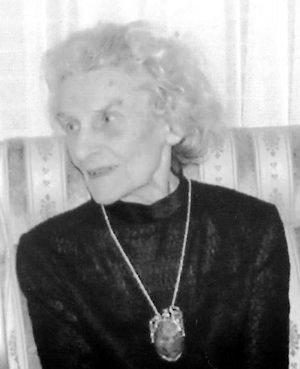 Kazimiera Marzec (1920-2014) Fot. arch. prywatne