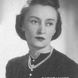 strz. Irena Stefania Ungeheier z domu Kuligowska
