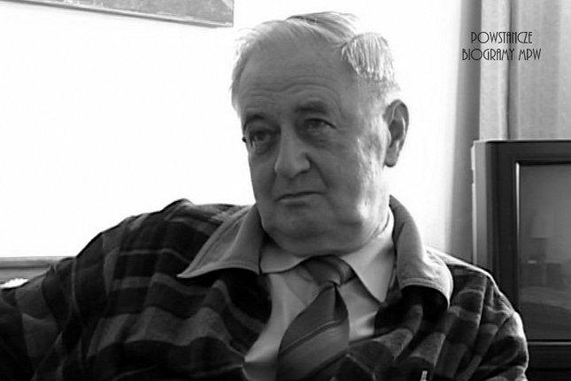 Andrzej Wojciech Wyczański (1924-2008) Fot. Archiwum Historii Mówionej / MPW