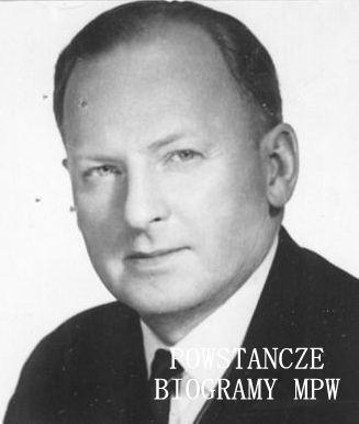 dr Jerzy Teter. Fot. dołączona do deklaracji zgłoszeniowej ZBoWiD. Ze zbiorów MPW.