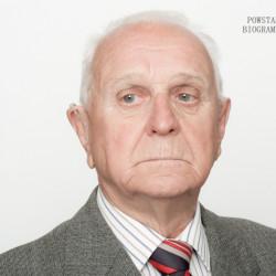Jerzy Eberhard. Zdjęcie z serii portretów Powstańców Warszawskich w ramach projektu