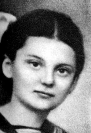 """Kazimiera Bronisława Chuchla ps. """"Kaja"""" (1928-1944). Fot. materiały do Słownika Uczestników PW"""