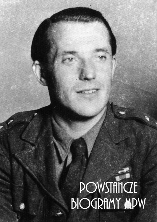 """ppor. Edward Kwietniewski """"Adam"""" (1910-1978). Fot. AR MPW"""