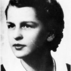 """Bożenna Marciniak """"Bussy"""" (1926-1944) Fot. AR MPW"""