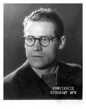 """Kazimierz Fabisz [Jerzy Zaborski] ps. """"Jerzyna II"""" . Zdjęcie z okresu okupacji. Fot. archiwum rodzinne"""