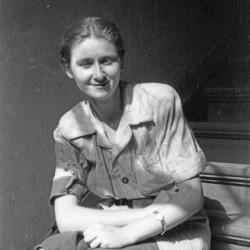 Sierpień 1944, Śródmieście Południowe. Kpr. Maria Drozdowska po mężu Przybylska