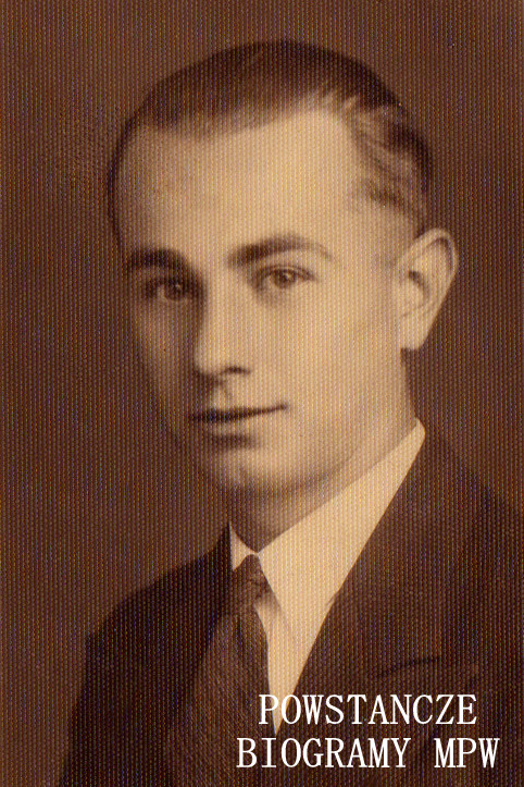 """sierż. pchor. Stanisław Kotłowski """"Orłowski"""" (1913-1981). Fot. udostępnił Cezary Cichocki"""